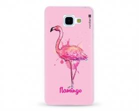Kryt NORDTEN flamingo watercolor Samsung Galaxy A5 2016 silikonový