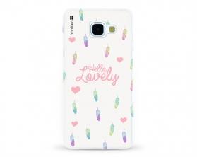 Kryt NORDTEN Hello lovely Samsung Galaxy A5 2016 silikonový