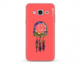 Kryt NORDTEN Dreamcatcher pink Samsung Galaxy J3 silikonový