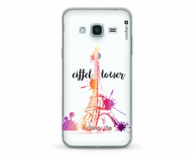 Kryt NORDTEN J3 Eiffel tower Samsung Galaxy J3 silikonový