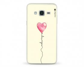 Kryt NORDTEN love you baloon Samsung Galaxy J3 silikonový