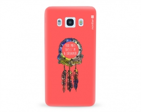Kryt NORDTEN Dreamcatcher pink Samsung Galaxy J5 2016 silikonový