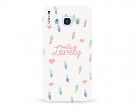 Kryt NORDTEN Hello lovely Samsung Galaxy J5 2016 silikonový