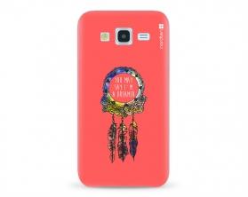 Kryt NORDTEN Dreamcatcher pink Samsung Galaxy J5 silikonový