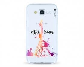 Kryt NORDTEN Eiffel tower Samsung Galaxy J5 silikonový