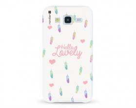 Kryt NORDTEN Hello lovely Samsung Galaxy J5 silikonový