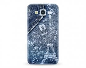 Kryt NORDTEN jean Paris Samsung Galaxy J5 silikonový
