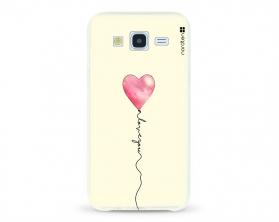 Kryt NORDTEN love you baloon Samsung Galaxy J5 silikonový