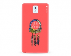 Kryt NORDTEN Dreamcatcher pink Samsung Galaxy Note 3 silikonový
