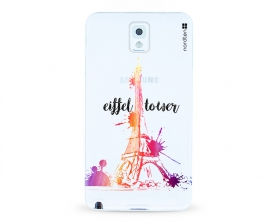 Kryt NORDTEN Eiffel tower Samsung Galaxy Note 3 silikonový