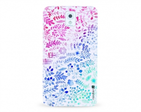 Kryt NORDTEN flowers mix watercolor Samsung Galaxy Note 3 silikonový