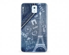 Kryt NORDTEN jean Paris Samsung Galaxy Note 3 silikonový