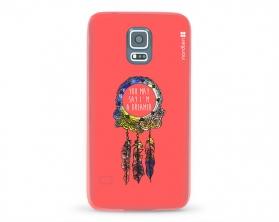 Kryt NORDTEN Dreamcatcher pink Samsung Galaxy S5 silikonový