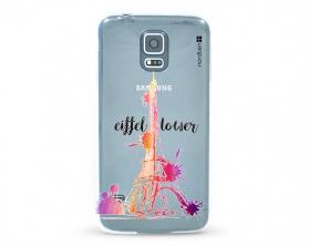 Kryt NORDTEN Eiffel tower Samsung Galaxy S5 silikonový