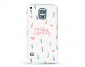 Kryt NORDTEN Hello lovely Samsung Galaxy S5 silikonový