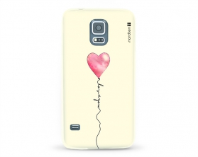 Kryt NORDTEN love you baloon Samsung Galaxy S5 silikonový