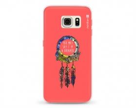 Kryt NORDTEN Dreamcatcher pink Samsung Galaxy S6 Edge silikonový