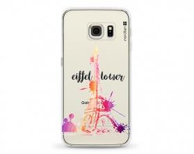 Kryt NORDTEN Eiffel tower Samsung Galaxy S6 Edge silikonový
