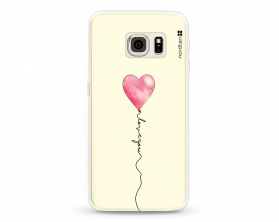 Kryt NORDTEN love you baloon Samsung Galaxy S6 Edge silikonový