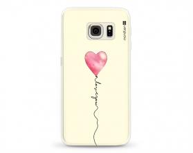 Kryt NORDTEN love you baloon Samsung Galaxy S6 Edge silikonový