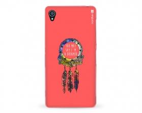 Kryt NORDTEN Dreamcatcher pink Sony Xperia Z3 silikonový