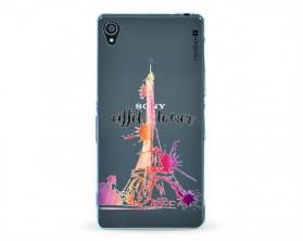 Kryt NORDTEN Eiffel tower Sony Xperia Z3 silikonový