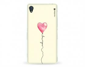 Kryt NORDTEN love you baloon Sony Xperia Z3 silikonový