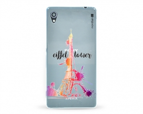 Kryt NORDTEN Eiffel tower Sony Xperia M4 Aqua silikonový