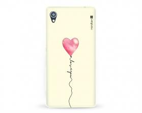 Kryt NORDTEN love you baloon Sony Xperia M4 Aqua silikonový