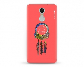 Kryt NORDTEN Dreamcatcher pink XIAOMI Redmi Note 3 silikonový
