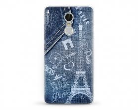 Kryt NORDTEN jean Paris XIAOMI Redmi Note 3 silikonový