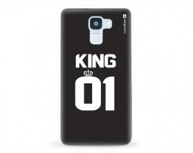 Kryt NORDTEN King 01 Huawei Honor 7 silikonový